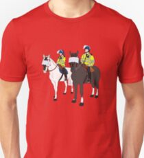 London Metropolitan Horse Cops Unisex T-Shirt