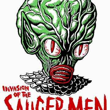 INVASION of the SAUCER MEN!!! by ManiYackMonster
