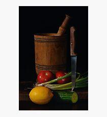 Cookery Photographic Print