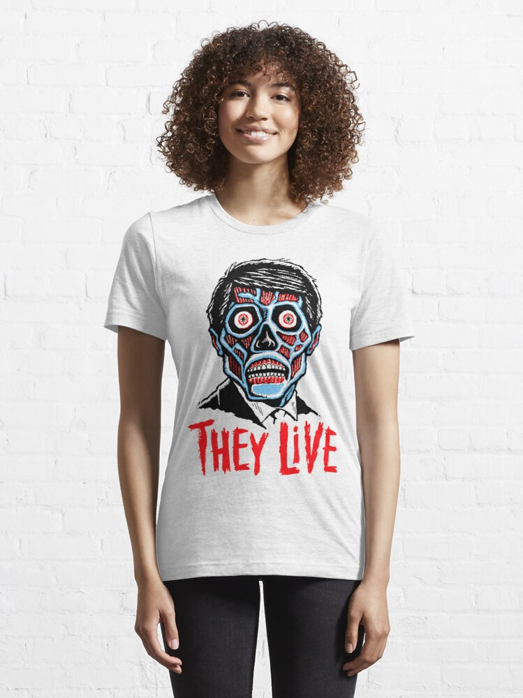 Alternate view of THEY LIVE!!! Essential T-Shirt