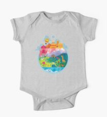 Small World One Piece - Short Sleeve