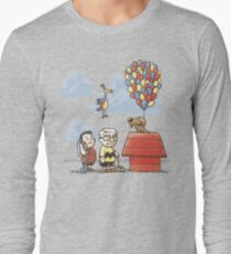 some Peanuts UP there Long Sleeve T-Shirt