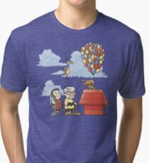 some Peanuts UP there Tri-blend T-Shirt