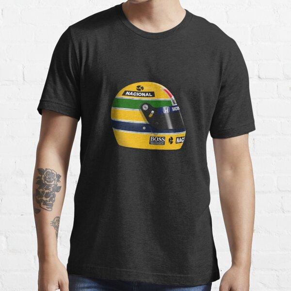 Ayrton Senna - 1988 - 1990 helmet Classic T-Shirt Essential T-Shirt