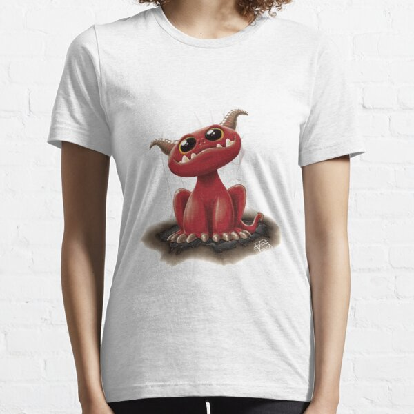 Cute red monster Essential T-Shirt