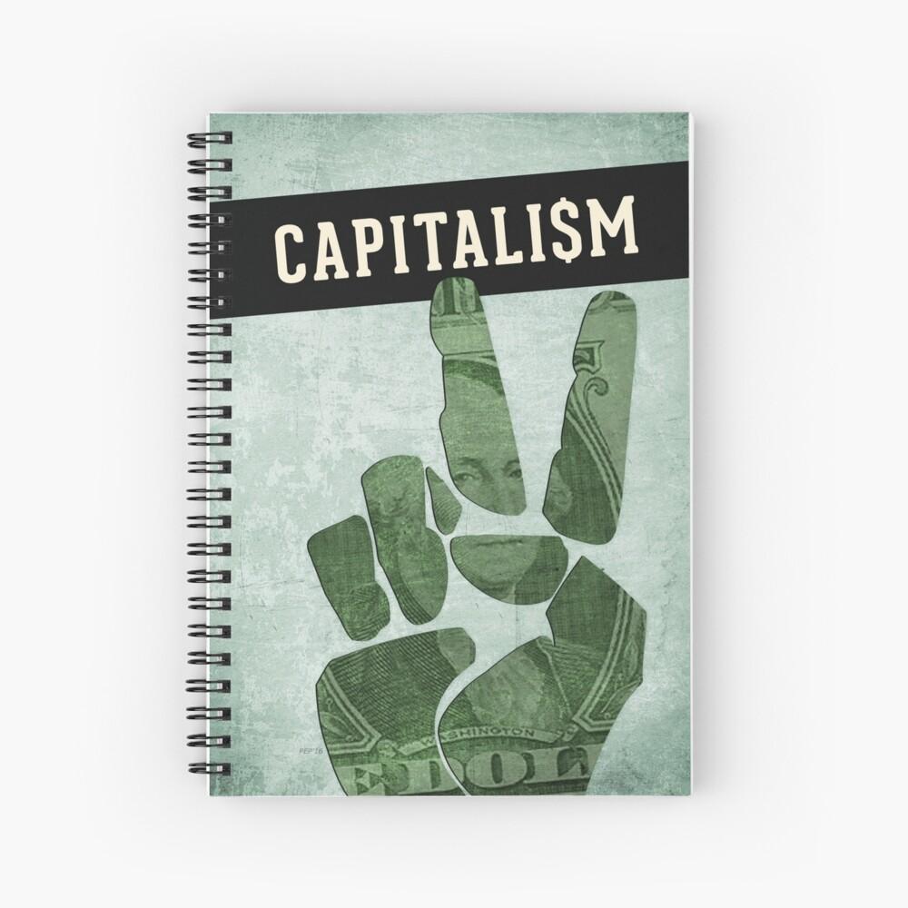 Capitalism Spiral Notebook