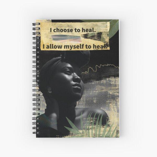 Healing Spiral Notebook