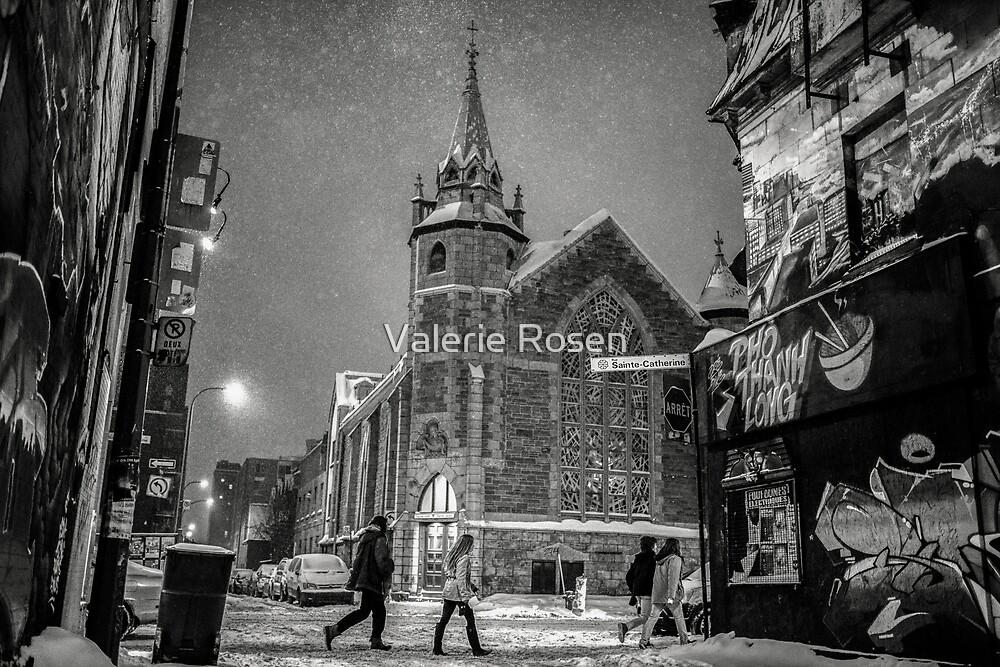 Il Etait Une Fois sur La Rue Ste-Catherine by Valerie Rosen