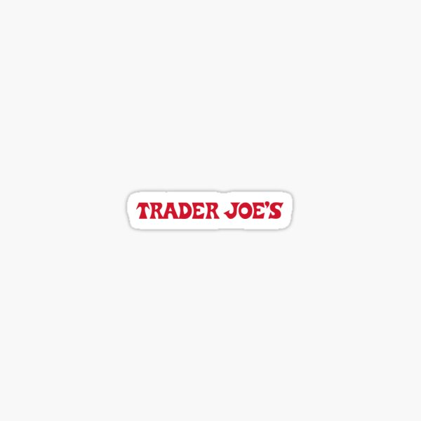 Trader Joe's Sticker