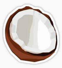 Coconut Vector Sticker