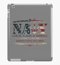 Armed Forces Day - Navy iPad Case/Skin