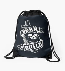 Master Builders only Drawstring Bag
