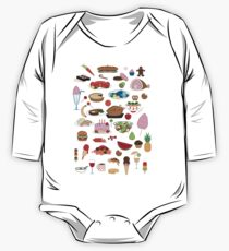 Food Glorious Food (black) Kids Clothes