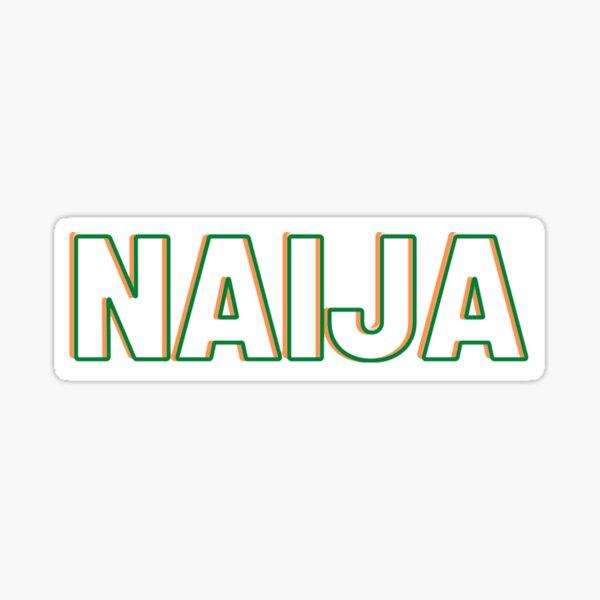 NAIJA Sticker