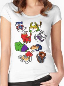 Atsume Assemble Women's Fitted Scoop T-Shirt