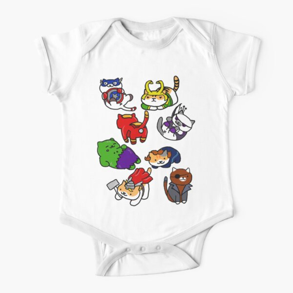 Atsume Assemble Short Sleeve Baby One-Piece