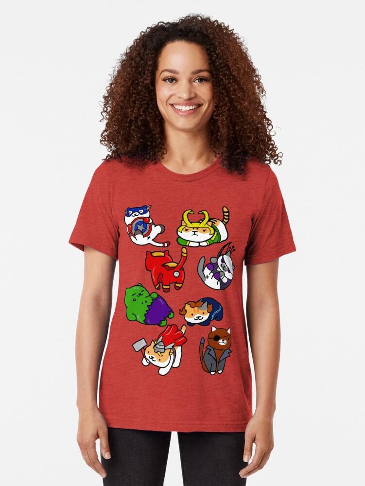 Alternative Ansicht von Atsume zusammenbauen Vintage T-Shirt
