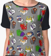 Atsume Assemble Chiffon Top