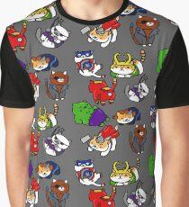 Atsume zusammenbauen Grafik T-Shirt