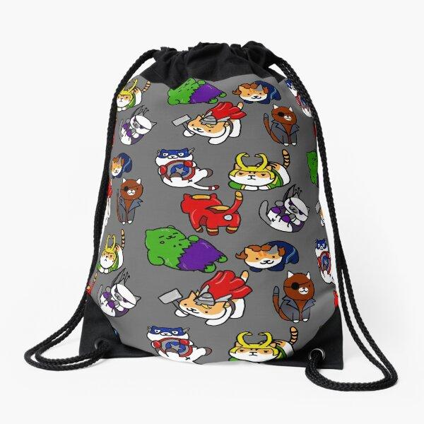 Atsume Assemble Drawstring Bag