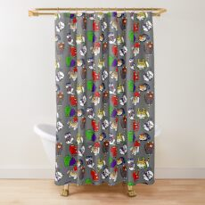 Atsume Assemble Shower Curtain