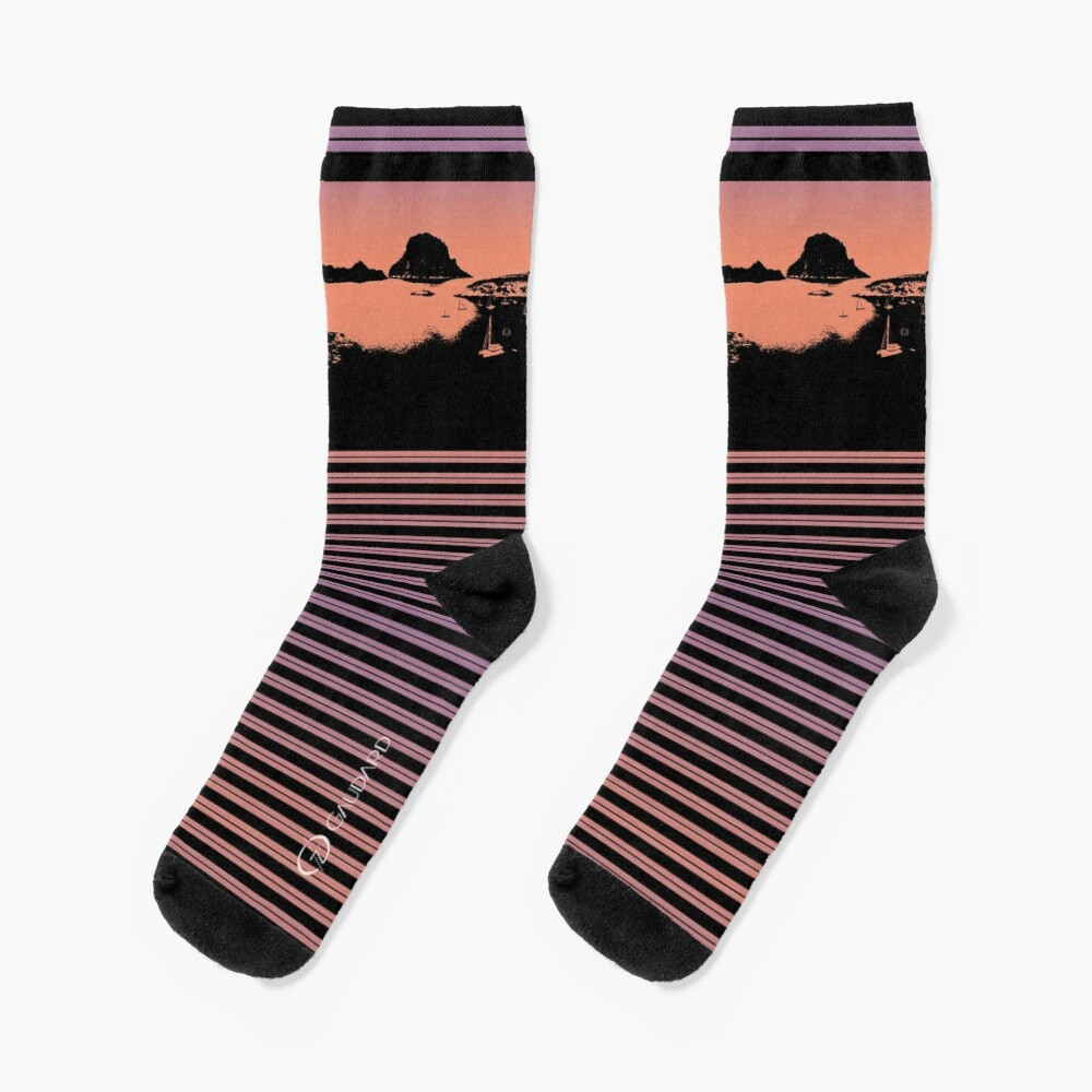 Balearic Lounge   Es Vedrà   Ibiza   Sunset Socks