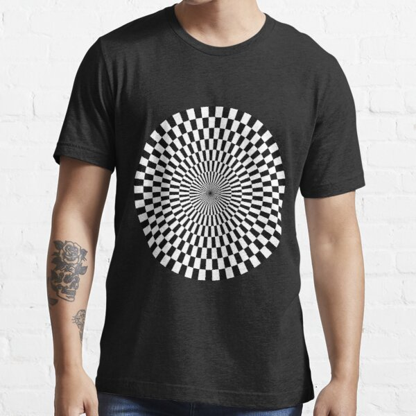 Op Art - Black and White Essential T-Shirt
