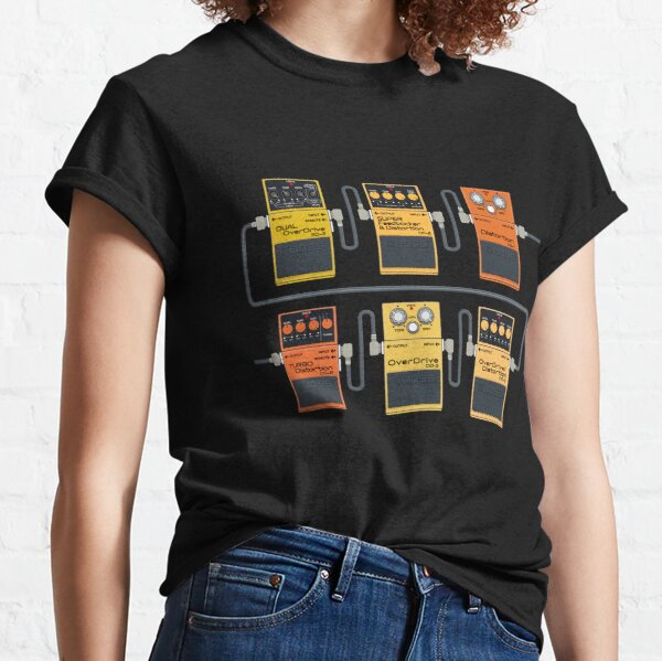 Stomp that Distortion Pedal! Classic T-Shirt