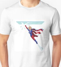 Hillary Clinton shattering the glass ceiling T-Shirt