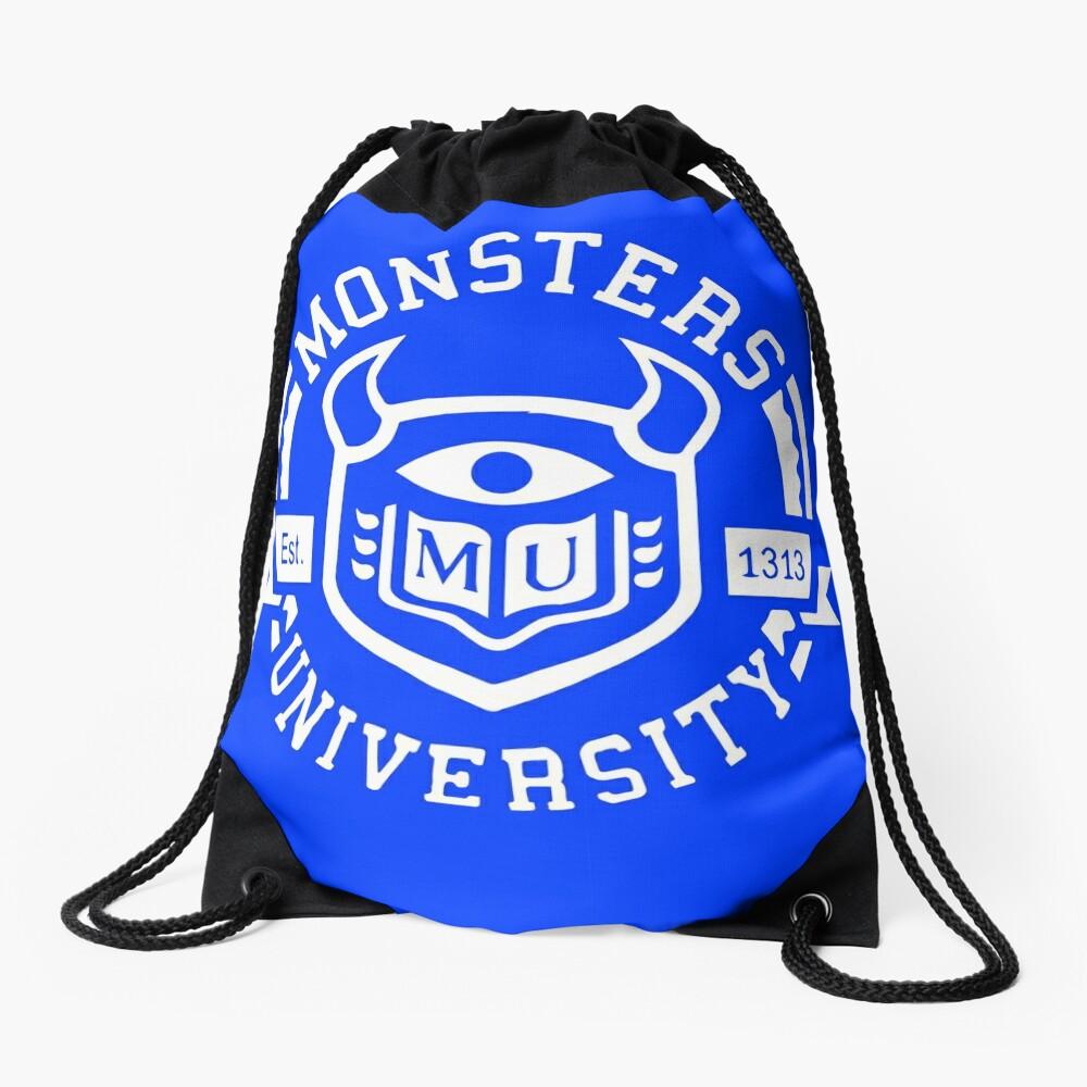Monsters university Drawstring Bag