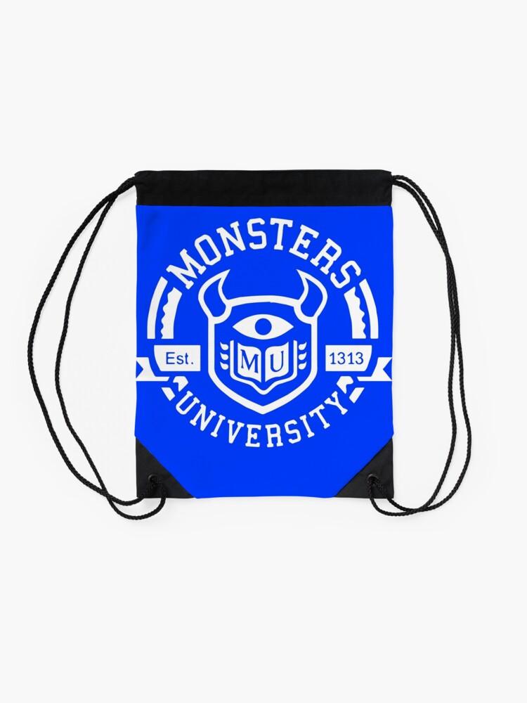 Alternate view of Monsters university Drawstring Bag