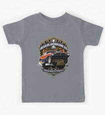 Muscle Car - Barracuda Road Burn Kids Tee