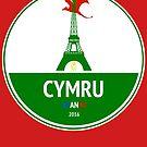 Cymru by Calum Margetts Illustration