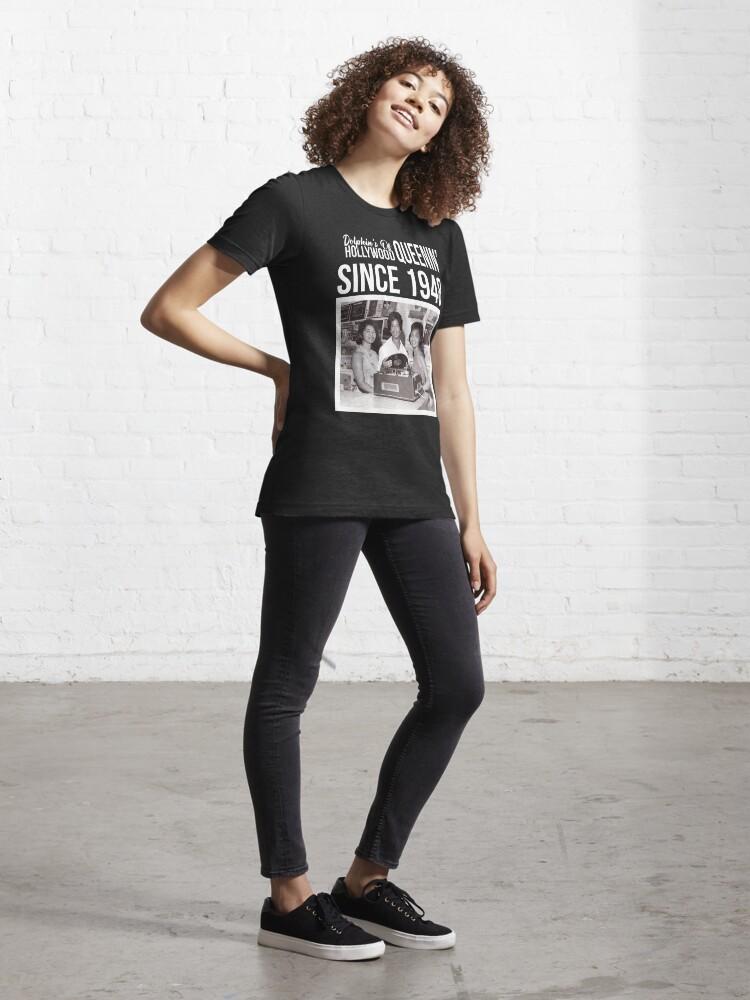 Alternate view of DOH - Stafford Women Queenin 3 Essential T-Shirt