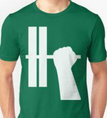 WORKOUT BAR SHIRT-WHITE Unisex T-Shirt