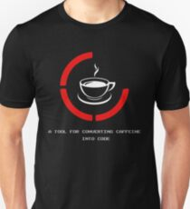 Programmer A Tool For Converting Caffeine Into Code T-Shirt