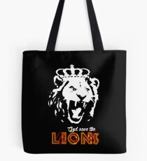God Save The Lions Tote Bag