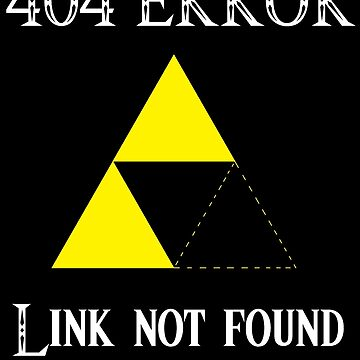 404 - Link not found (B) by DrGluefoot