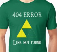 404 - Link not found (B) Unisex T-Shirt