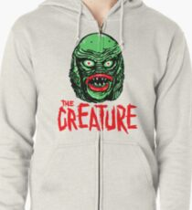CREATURE from the BLACK LAGOON Zipped Hoodie