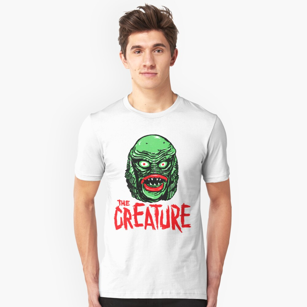 CREATURE from the BLACK LAGOON Unisex T-Shirt Front