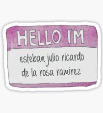 Hello, I'm Sticker