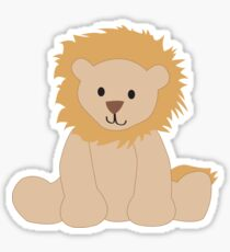 Cute Lion Sticker