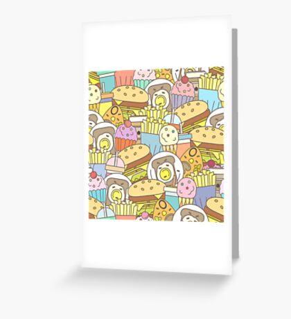 Fast Food Greeting Card