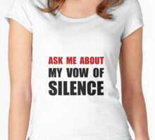 Vow Of Silence Women's Fitted Scoop T-Shirt