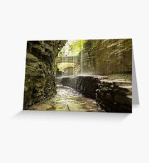 Watkins Glen State Park Greeting Card