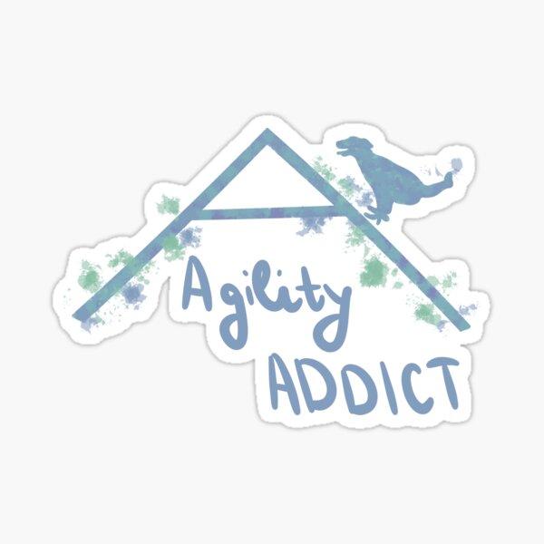 Agility addict Sticker
