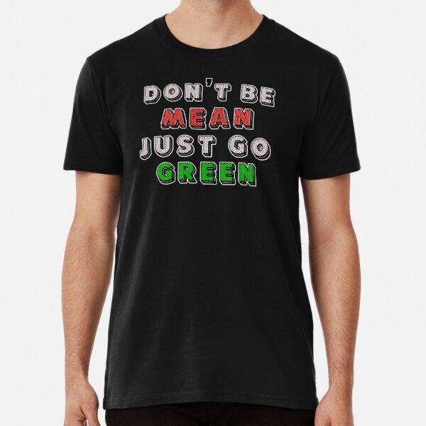 paix verte. slogan vert T-shirt premium