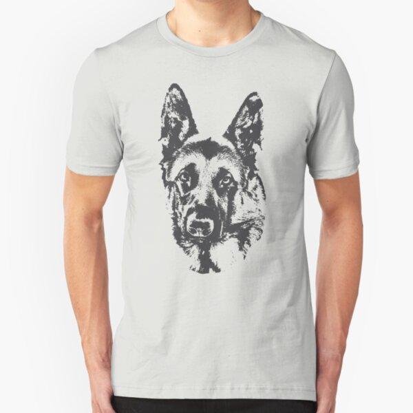 German Shepherd Slim Fit T-Shirt
