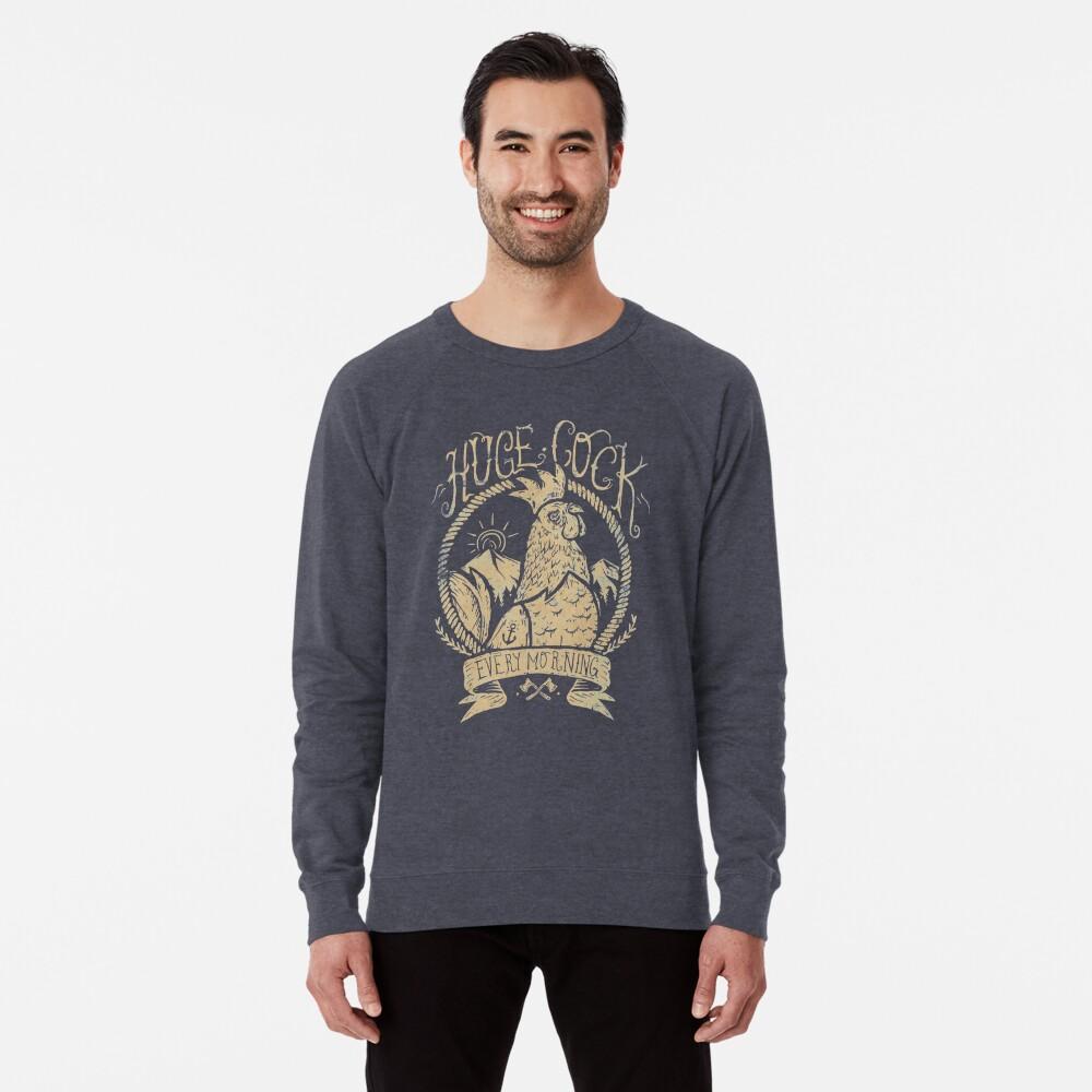 Huge Cock Lightweight Sweatshirt